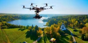 pro drone aerial footage
